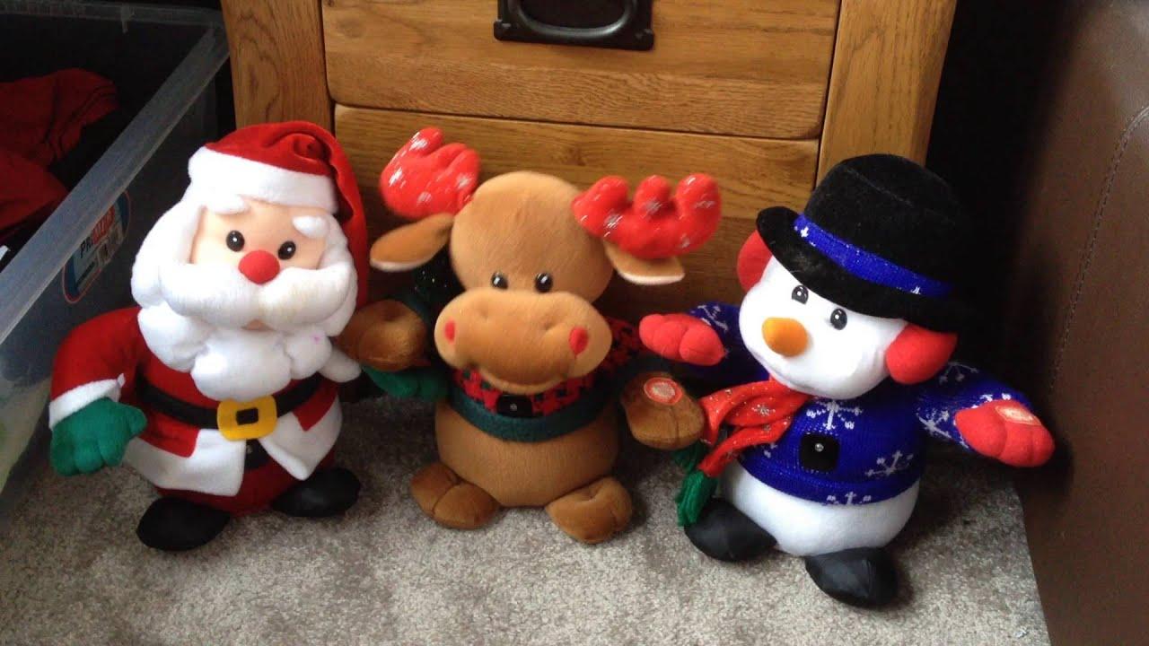 interactive singing christmas friendstoys jingle bells youtube - Singing Christmas Toys
