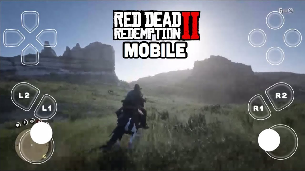 RED DEAD REDEMPTION 2 MOBILE GAMEPLAY (iPhone/iPad)