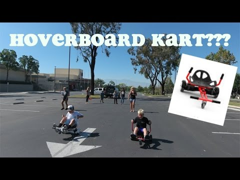 AMAZING NEW HOVERBOARD KART