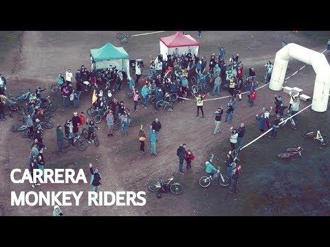 Carrera Monkey Riders Team en Las Viñas!