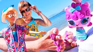 Фото Маша Капуки, Барби и СПА салон на пляже. Видео для девочек. Игры в куклы