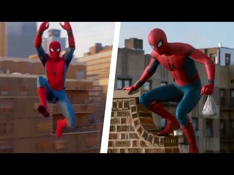 Spider-Man PS4 Recreating Homecoming Swinging scene