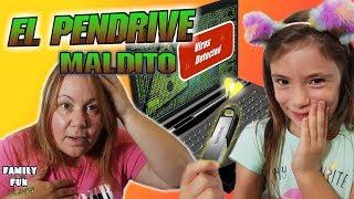 Broma a mamá - El pendrive maldito - Family Fun Vlogs