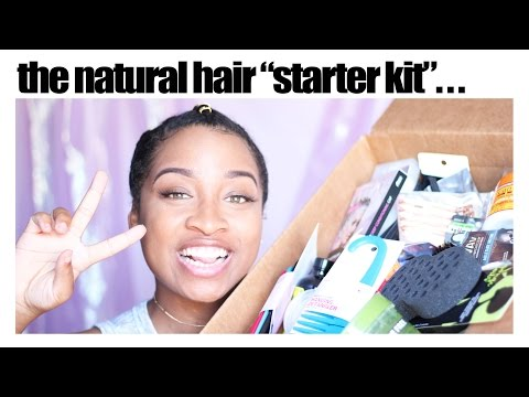 The Ultimate Natural Hair Starter Kit... | GIVEAWAY!
