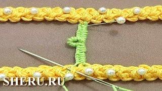 Румынское кружево Урок 50 часть 5 из 9 Брида со спиральным пико