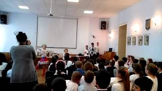 (памяти Т.Г.Шевченко)открытый урок сш122