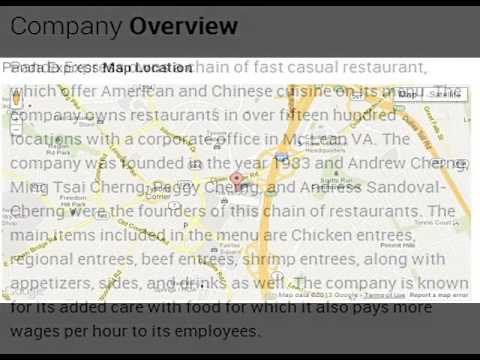 Panda Express Corporate Office Contact Information YouTube