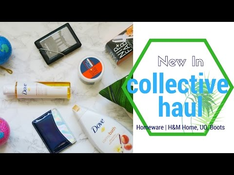 Large Collective Haul  |  H&M Home, Boots,  Oliver Bonas,  Urban Outfitters | Tamara Belova