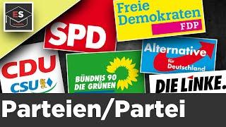 Parteien/Partei/Parteiensystem - Einfach erklärt !