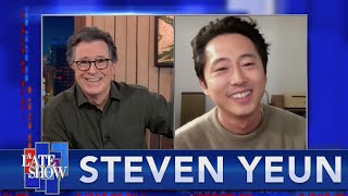 """You Can Be Anything You Want To Be Up There"" - Steven Yeun On Falling In Love With Performing"