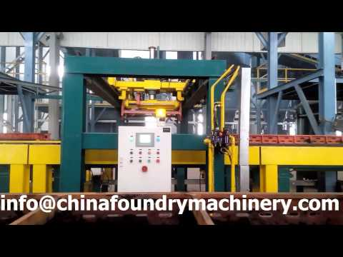 Qingdao Ruvii Fully-auto Green Sand Molding System/Plant for Iron Casting in Foundry
