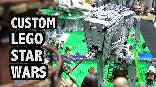 LEGO Star Wars Endor Battle and Cantina | Brick Fest Panama 2018