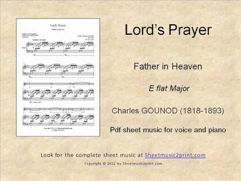 Lords prayer pdf the