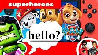 HULK Is INVISIBLE  + NERF Gun Battle W/ SHADOW   Superhero Videos For Kids