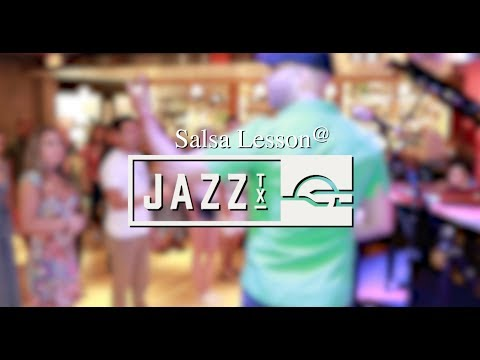 Salsa lessons in San Antonio @Jazz Tx 7 15 2017