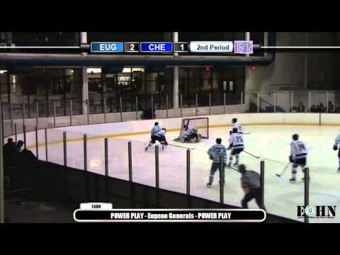 Eugene Generals vs. Cheney Icehawks - Saturday, November 8th, 2014
