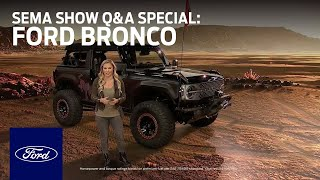 Ford Auto Nights: SEMA Show Q&A Special - Bronco | Ford