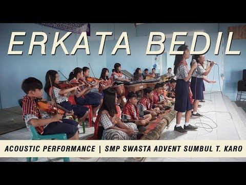 Erkata Bedil | Acoustic Performance by SMP Swasta Advent Sumbul