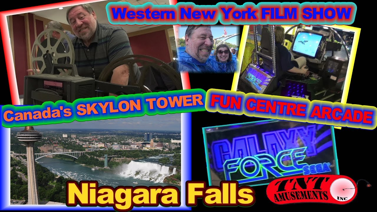 #1201 WESTERN NEW YORK FILM SHOW-Canada SKYLON TOWER FUN CENTER ARCADE-TNT Amusements