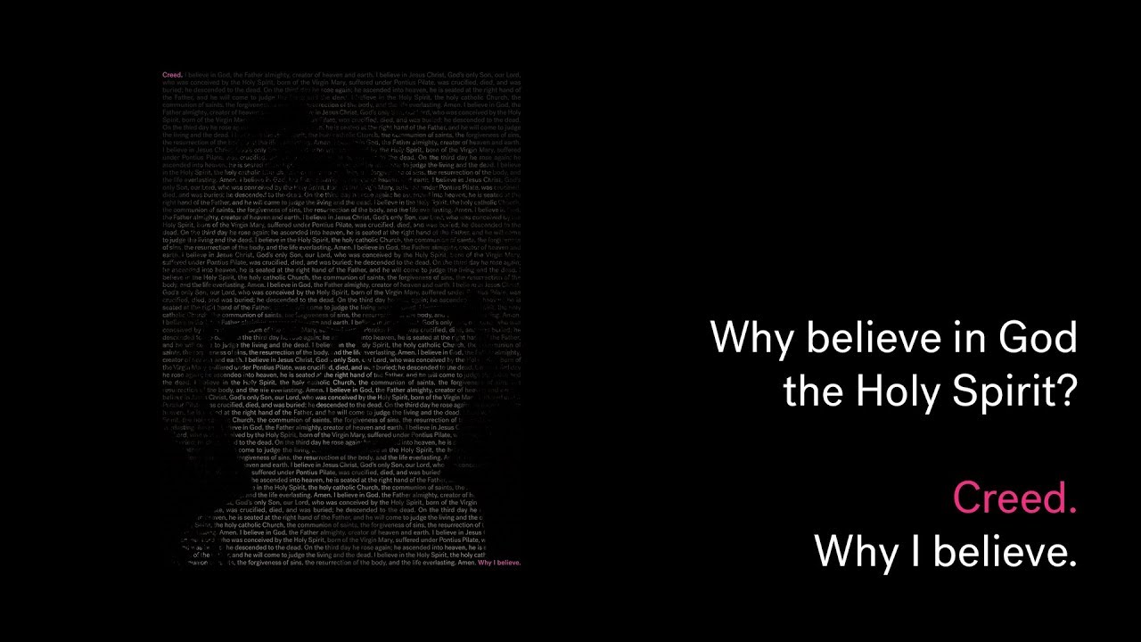 Creed: Why believe in God the Holy Spirit? Cover Image