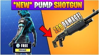 Fortnite v6.31 Patch Update Notes! *NEW* Legendary Pump Shotgun + HUGE Shotgun Damage BUFF!