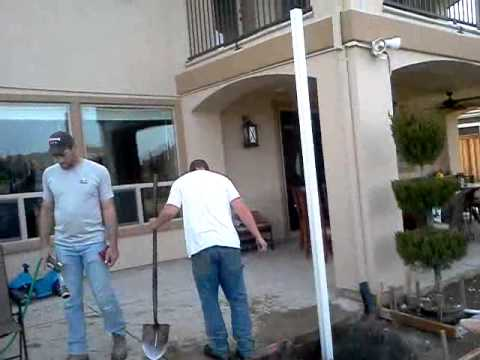 Patio Cover Footings Youtube