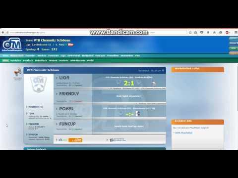 fussball manager online spiel