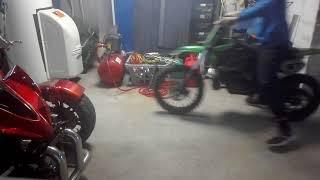 Je redémarre le moto