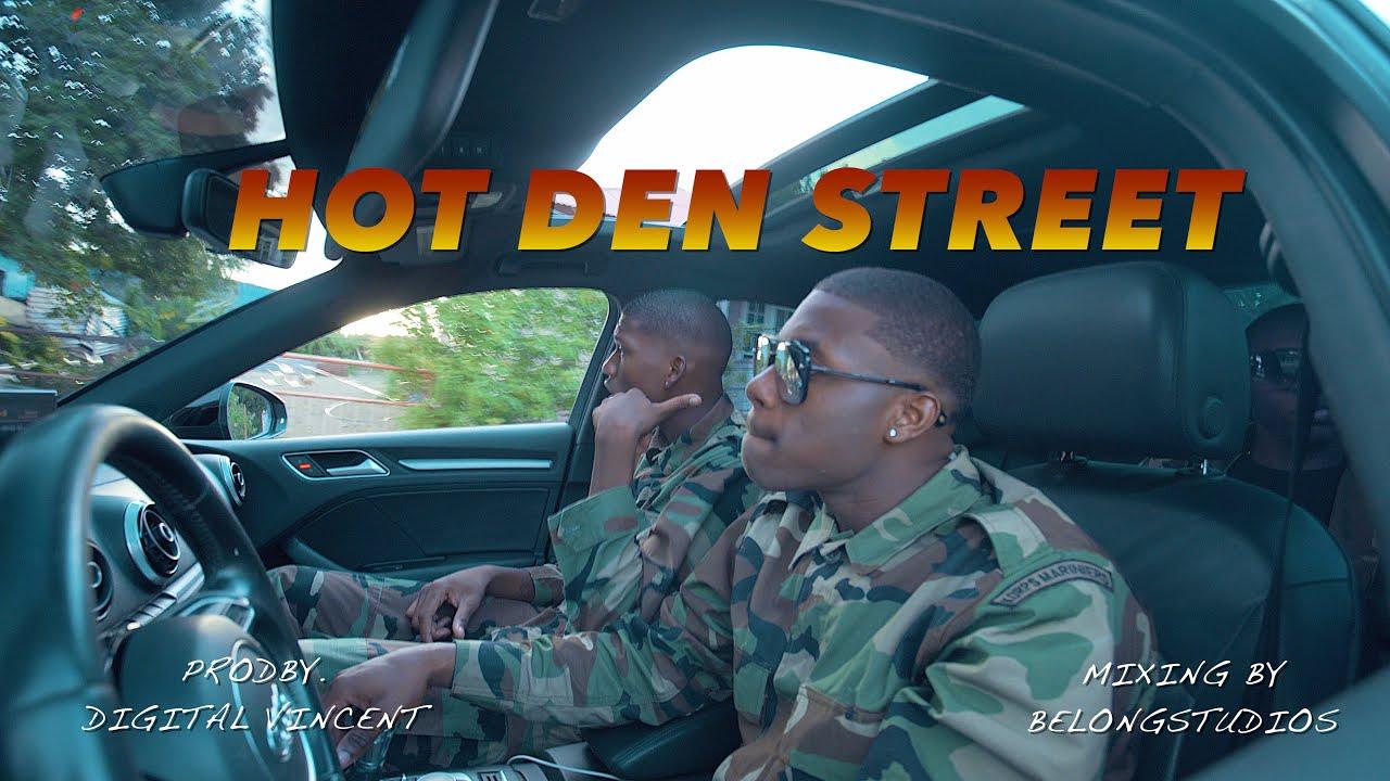 Download DINDI SPRAY FT GEDI1000- HOT  DEN STREET (OFFICIAL VIDEO )