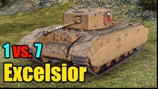 World of Tanks Excelsior Gameplay (11 Frags - 2,2K Damage)