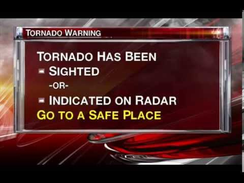 Emergency Alert Tornado Warning: Toronto - Radio (Mock Up)