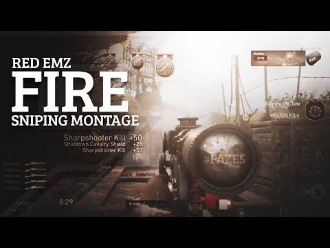 Red EmZ - 'FIRE' A CoD Sniping Montage #FAZE5