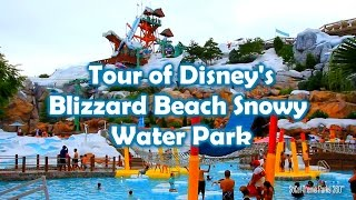 [HD] Tour of Disney's Blizzard Beach Water Park - Walt Disney World