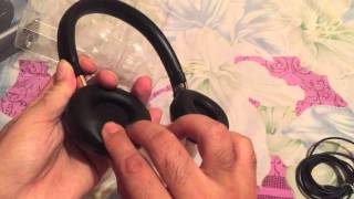 philips shb 9250 wireless headphones unpacking