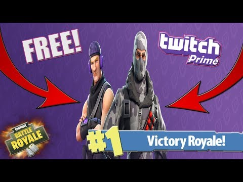 FREE Twitch Prime Loot! Winning In Fortnite! (Fortnite Battle Royale)