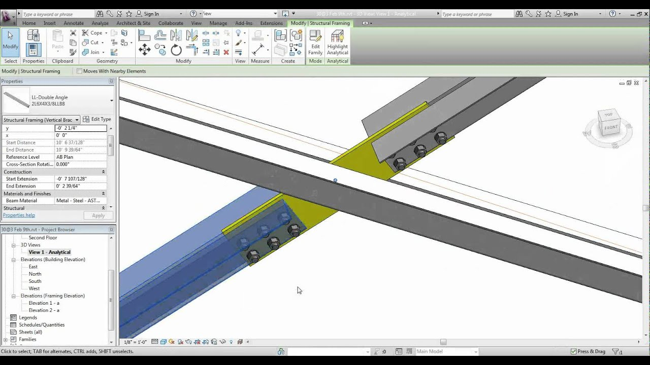 how to draw vertical cable tray in revit