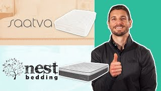 Saatva Vs Nest Bedding Alexander Hybrid | Mattress Review & Comparison (updated) Reviews