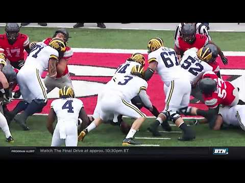 Michigan at Ohio State - Football Highlights