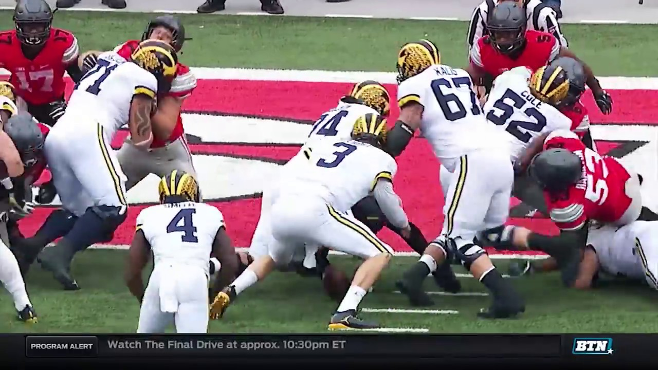 Michigan At Ohio State Football Highlights Youtube