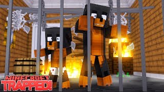CAN DONUT AND BABY MAX ESCAPE THE HELLO NEIGHBORS EVIL LAIR - Minecraft Gameplay
