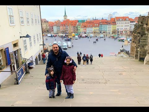 Erfurt (Thuringia), Germany - City Tour - Day Trip!!!