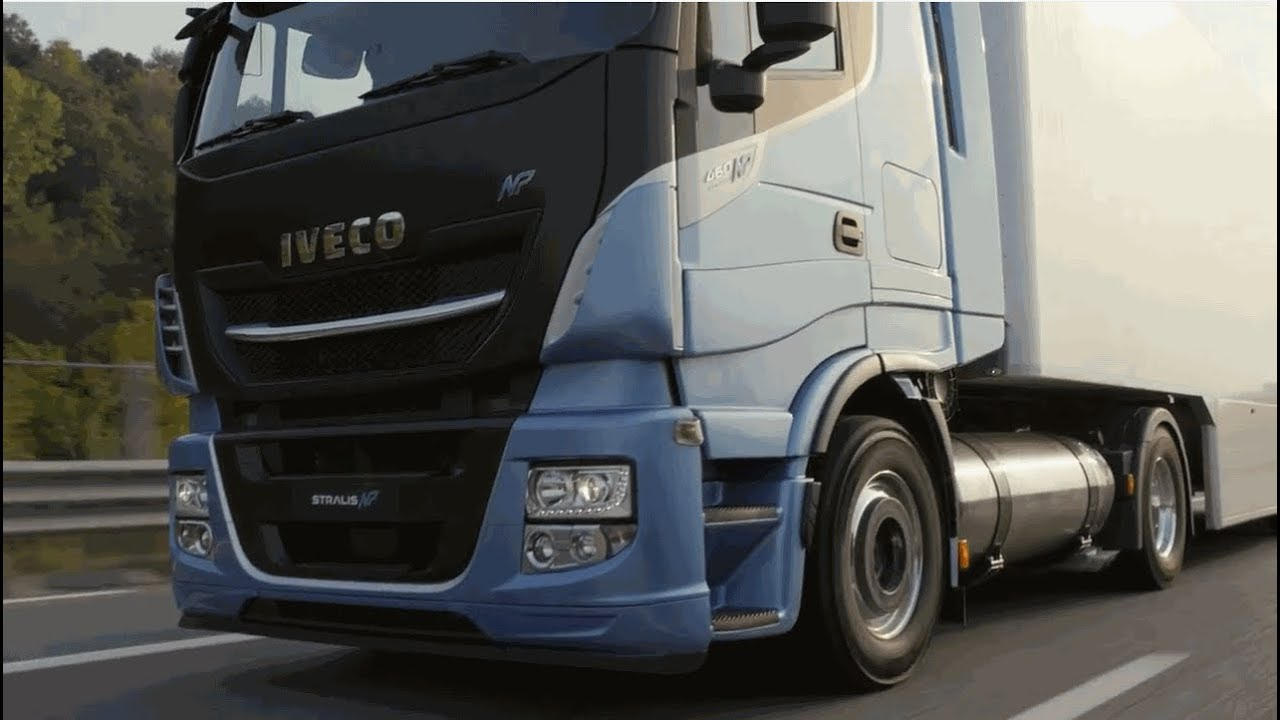 IVECO STRALIS NP 460 2018 Gas Powered Truck Teaser - YouTube