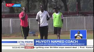 Kakamega Homeboyz names Muyoti as Head Coach