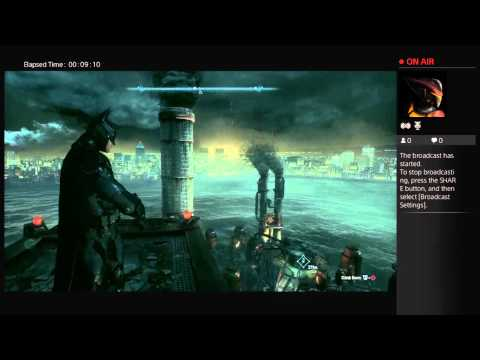 Browning Around Arkham Knight (New Story Plus-Hard Difficulty) Broadcast