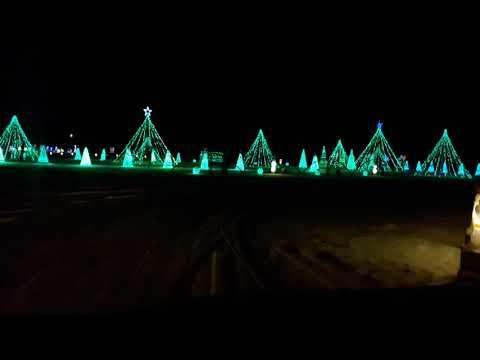 Christmas lights with music.  Sumner IA