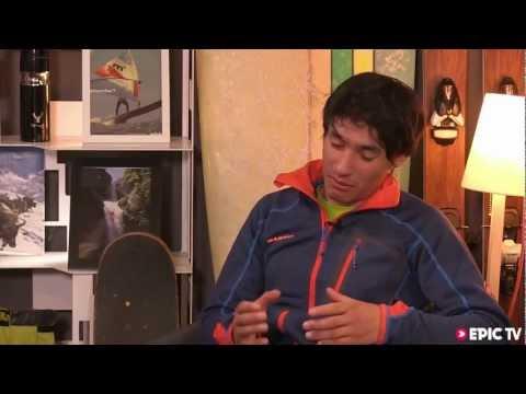 David Lama, Peter Ortner - First Free Ascent, Compressor Route, Cerro Torre - Piolets d'Or 2013