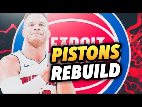 REBUILDING THE DETROIT PISTONS! NBA 2K19 MY LEAGUE!