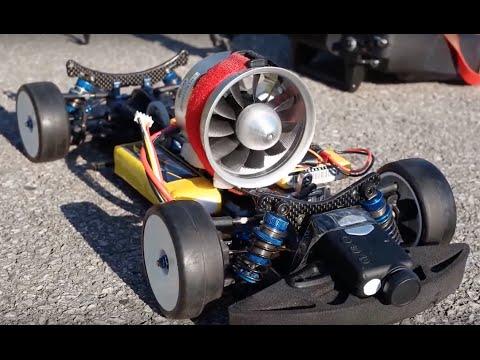electric jet rc car