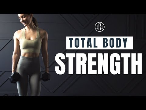 Strength Supersets // Total Body Workout with Dumbbells