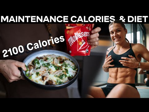 Full Day of Eating at my MAINTENANCE Calories **2100 cals**